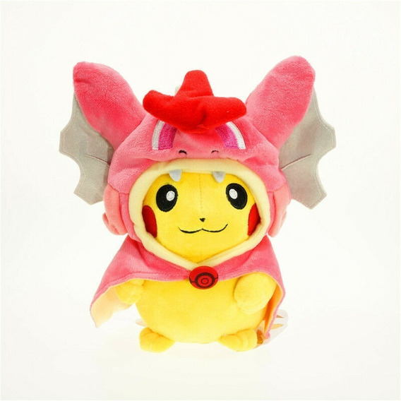 Pokemon Pelúcia Pikachu Cosplayer Gyarados 22cm