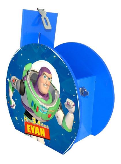 Alcancía Dulcero Centro Mesa Toy Story Buzz Star Personaliza
