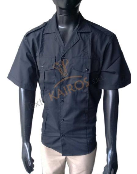 Camisa Batista Negro Policia Federal