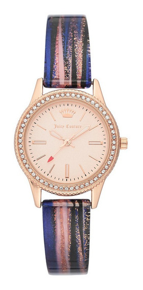 Reloj Juicy Couture Silicon Correa Bitono Ab