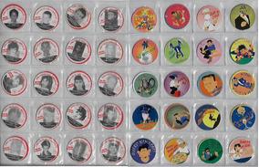 Ano 1997 Lote Com 10 Tazos Da Coleção Crianças Desaparecidas