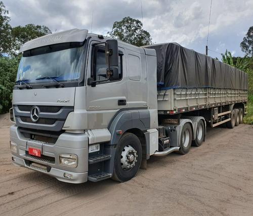 Mercedes-benz Axor 2544 6x2 Ano 2014/2014