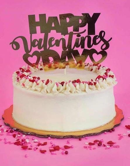 Pack De Letreros Para Pastel Cake Topper San Valentin
