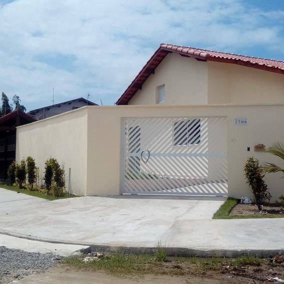 Casa Nova A Venda Em Peruibe- Aceita Financiamento Bancário