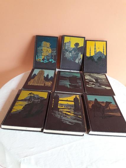 Coleção O Mundo Pitoresco 9 Volumes Frete Grátis