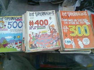 Los Supermachos De Rius Lote De 191 Comics De Colección