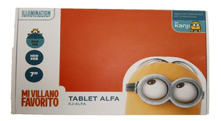 Kanji - Tablet Alfa Minions 8gb 2 Camaras Quad Core