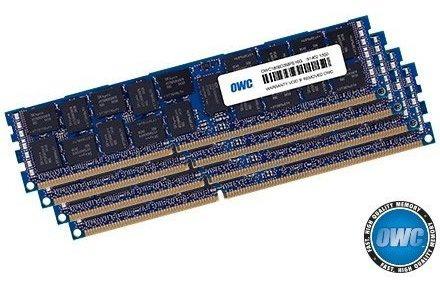 Memoria Ram 128gb Owc (4 X 32gb) 1333mhz Pc3-10600 Ddr3 Sdram Dimm 240-pin Upgrade Kit (owc1333d3z3m128) Para 2013 Mac P