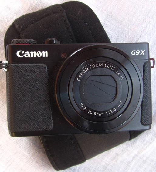 Canon G9x Mark Il Con Batería Y Cargador, Pequeña Pero Grand