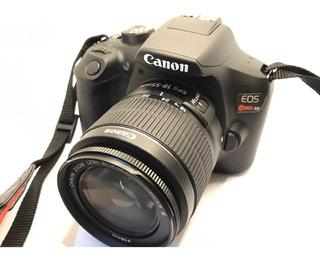 Camara Canon Fotográfica Eos Rebel T6 + Lente 18-55