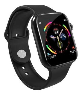 Smartwatch W4 Preto Relógio Inteligente F10