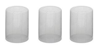 100 Lacres Incolor Termoencolhível Garrafa 31mm X 32mm