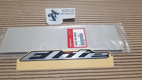Calco Original Honda Elite 125 New Elite 125 Lateral 14-17