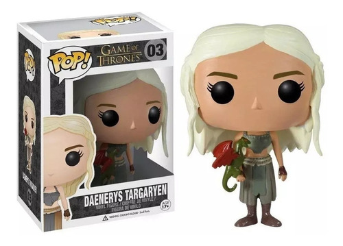 Funko Pop! -  Game Of Thrones  - Daenerys Targaryen #03