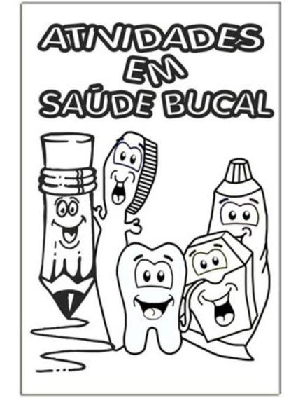 Mini Revista Dental Atividades Saúde Bucal - 14 Unids
