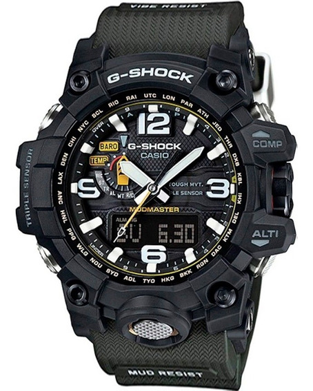 Relógio G-shock Mudmaster Gwg-1000 - Na Caixa Com Manual