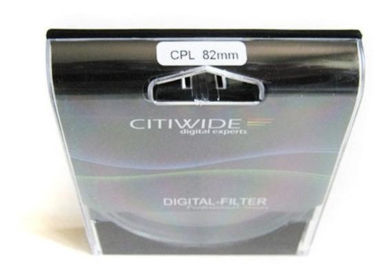 Filtro Digital Polarizador Cpl 82mm Cameras Filmadoras