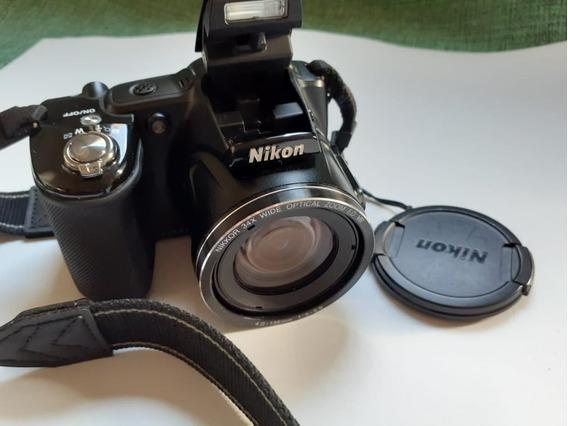 Camera Nikon Collpix L830 Completa