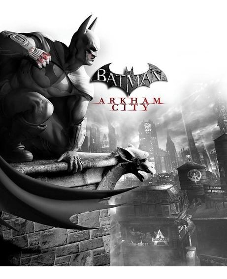Batman: Arkham City Game Of The Year - Pc Mídia Digital