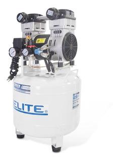Compresor Odontológico Elite 2.5hp 40 Lts 1 Pistón