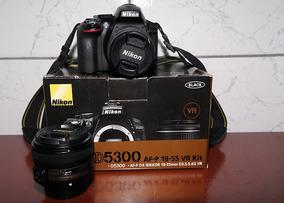 Câmera Nikon D5300 + Lente 18-55mm + Lente 50mm