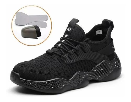 Imagen 1 de 8 de Zapatos De Seguridad Para Hombre Indestructible Acero Dedo D