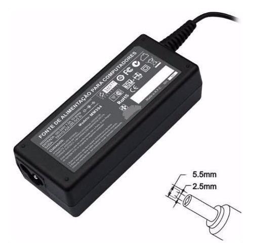 Fonte Carregador Para Microboard Nb123x 19v 3,42a 65w 394