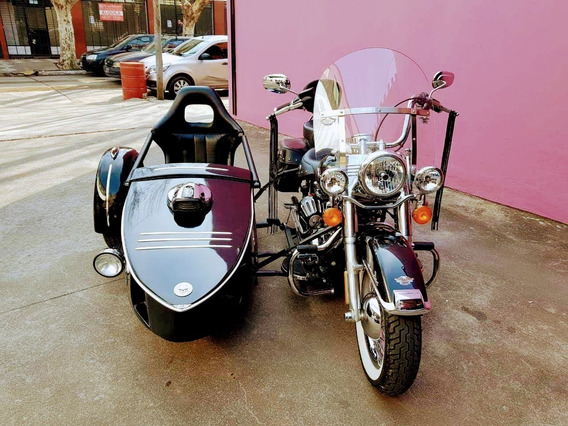 Harley-davidson Softail Con Sidecar