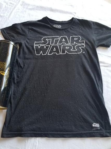 Remera Star Wars - Rever Pass - Talle S - Con Lata!!