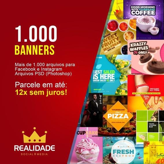 1000 Banners/flyers/panfletos Templates Psd Editáveis