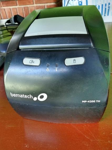 Impressora Térmica Não Fiscal Bematech Mp4200th, Usb
