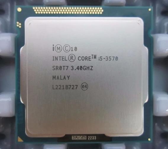 Processador I-5 3570 3.4 Ghz + 2 X 4 Memoria Ddr3 1.333