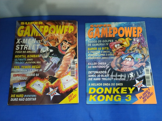 Super Game Power - 15 Revistas - Nº 33 Ao 45, Nº 50 E Nº 56