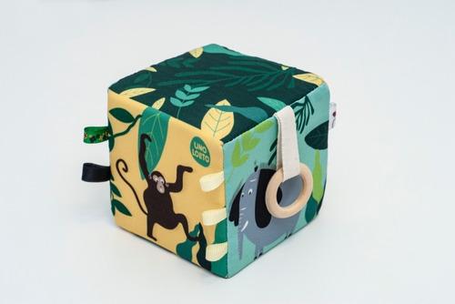 Imagen 1 de 5 de Cubo Sensorial Bebes #diadelniño