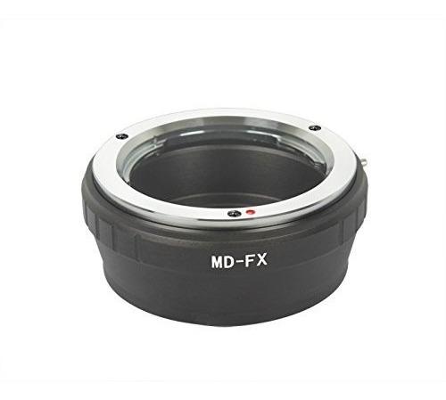 Anel Adaptador Lente Minolta Mc Md-fx Fuji X-pro1 X-e1 X-e2