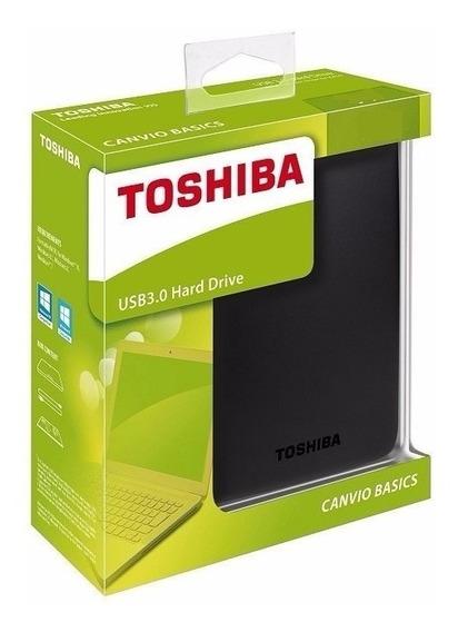 Disco Duro Externo Toshiba Canvio Basics 2tb Usb3.0 2000gb