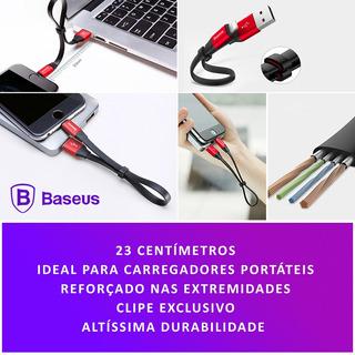 Baseus - Cabo Ideal Para Bateria Portatil Para iPhone 6 Plu