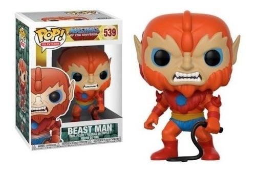 Boneco Pop Funko He-man Mestres Do Universo Homem Fera #539
