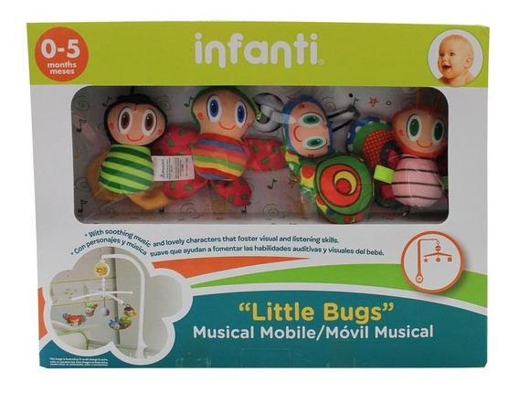 Movil Musical Bichos Infanti