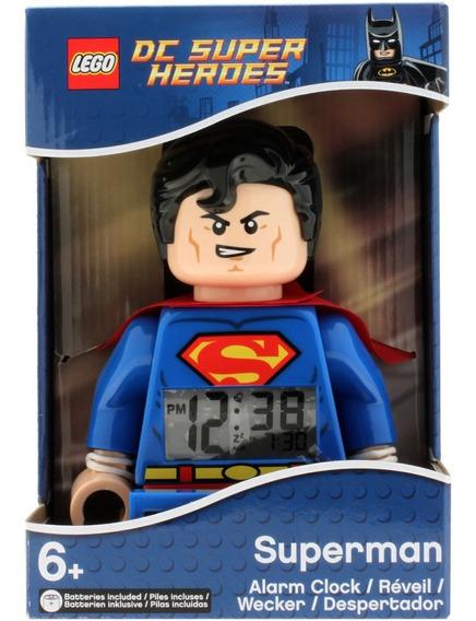 Reloj Despertador Superman Lego 9005701