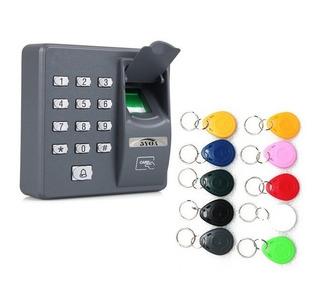 Controle Acesso Biométrico Impres. Digital Cartão E Chaveiro