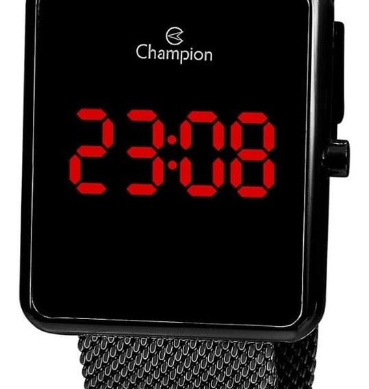 Relógio Champion Feminino Digital Quadrado