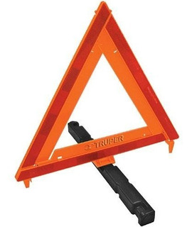Triangulo Seguridad 43.5 Cm Truper 10942