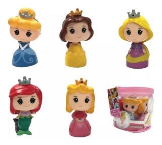 Set 5 Muñecas Princesas Disney Estilo Funko Pop 12 Cm
