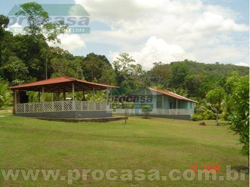 Sítio Com 2 Dormitórios À Venda, 1000 M² Por R$ 280.000,00 - Área Rural - Manaus/am - Si0150
