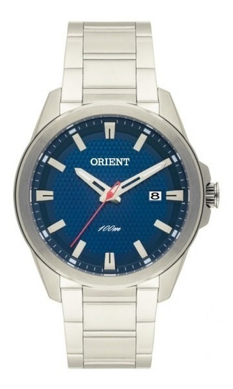 Relógio Masculino Orient Mbss1277 D1sx Analógico Calendário