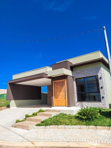 Casa Térrea Em Condomínio Fechado - Ca0486