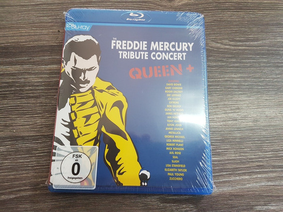 Freddie Mercury - The Tribute Concert - Blu Ray Lacrado