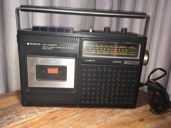 Rádio E Toca Fitas Sanyo