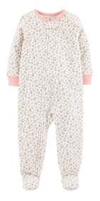 Macacão Carters Fleece Menina Oncinha E Unicórnio Inverno